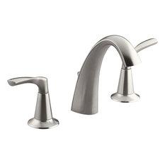 Kohler 2-Handle Brushed Nickel Widespread Lavatory Faucet R37026-4D1-BN