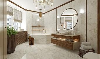 Дизайн интерьера большой квартиры