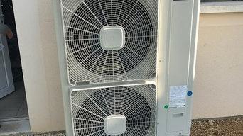 Remplacement d'une chaudière par une Pompe À Chaleur Air/Eau BiBloc HITACHI