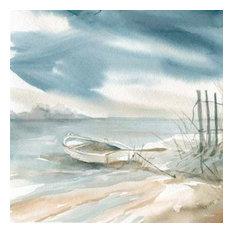 Subtle Mist III by Carol Robinson Canvas Print