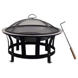 Transitional Fire Pits by Western Sierra Trading Company