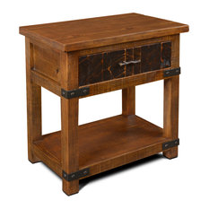Marrone 1 Drawer End Table / Nightstand