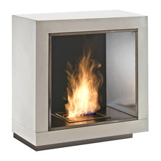 Kubo Two-Sided Bioethanol Fireplace