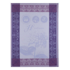 Traditional Kitchen Towels, Set of 4, Blue