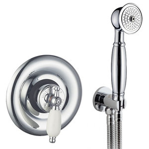 Enki Traditional Sequential Concealed Thermostatic Shower Set, VictorianHead