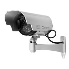 Security Camera Decoy with Blinking LED and Adjustable Mount by Trademark Home