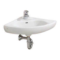 cheviot products wall mount corner sink bathroom sinks
