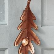 Oak Leaf Door Knocker