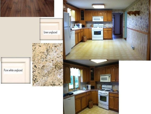 Painting Kitchen Cabinets Pure White Or Linen White