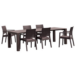 Tropical Outdoor Dining Sets by Compamia