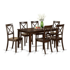 7-Piece Formal Dining Room Set, Table And 6 Formal Dining Chairs