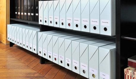 Le 5 Regole Per Organizzare i Documenti in Casa