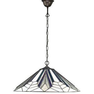 Astoria Art Deco Single Pendant, 60 W, Large