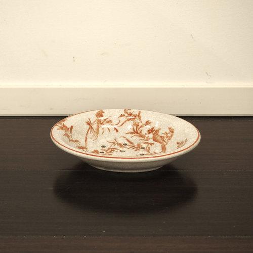 陶器のソープディスペンサー - ソープ&ローションディスペンサー
