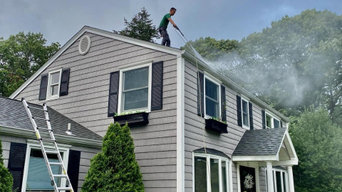 Pressure Washing Residential Home in Coram, NY