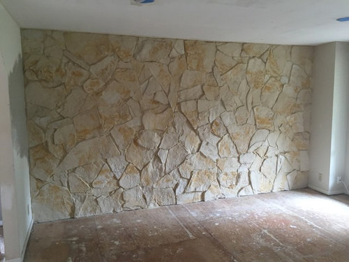 Superieur What To Do With An Interior Rock Wall From The 70u0027s/80u0027s