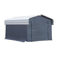 Arrow  10 x 15 Fabric Carport Enclosure Kit