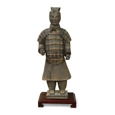 Chinese Terracotta Soldier Statue, Civil General