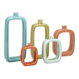 Warlow Vases, 5-Piece Set