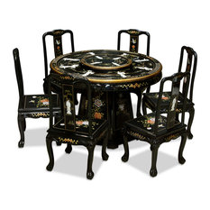 Oriental Dining Room Sets asian dining room sets | houzz