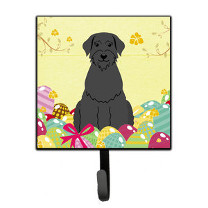 Easter Eggs Greater Swiss Mountain Dog Leash Key Holder Contemporary Wall Hooks By The Store