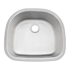 DiMonte D-Shaped Sink M-249, M-249 D-Shaped Sink