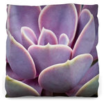 """J. Paul Moore - Sunset Succulent Throw Pillow, Medium 20""""x20"""", Luxe, Pillow Cover Only - Unleash the design power of the throw pillow. Transform any space into a comfy and inviting oasis. Whether you're looking to add a pop of color or a bold print, the WNL throw pillow is the perfect way to complete any room. Offered in two different styles and three sizes, there is a throw pillow for everyone. Our Lightweight throw pillow is made from an ultra soft, 100% spun polyester. The Luxe Throw Pillow is made from a textured polyester that looks and feels as luxurious as it sounds. Both are available with or without the pillow insert."""