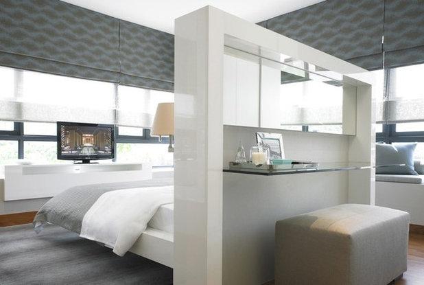 Bedroom by Janet McGlennon Interiors