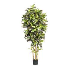 Artificial Tree -6 Foot Croton Tree