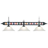 Elk Lighting 190-1-G1 3 Light 1 Tier Linear Chandelier From The Designer Classi