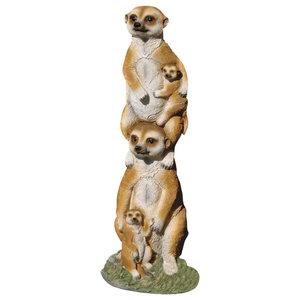 Design Toscano The Meerkat Gang Statue