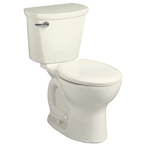 """Traditional Vitreous China 2 Piece Toilet, Linen, 17.38""""x28.25""""x28.88"""""""