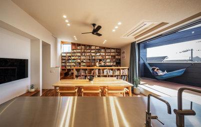 建築家と一緒につくった、趣味と暮らしを楽しむ家族のための家