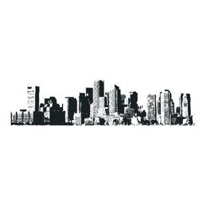 New York Cityscape Wall Sticker, 60x180 cm