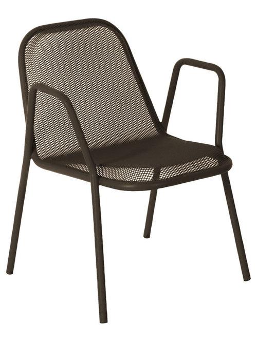 Golf Stol Med Armstöd, Brons - Udendørs spisebordsstole