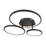 Ceiling Lamp Rondas LED Black
