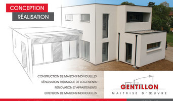 Maison contemporaine rouge