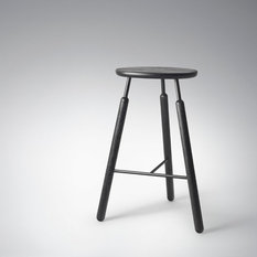 &tradition - Raft Barstool NA4 Barhocker Schwarz &tradition - Barhocker & Barstühle