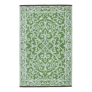 Gala Indoor/Outdoor Rug, Herbal Garden and Ivory, 150x240 cm