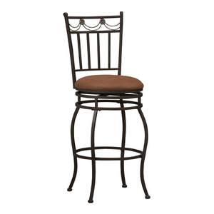 Fleur De Lis Counter Stool 24 Quot Traditional Bar Stools
