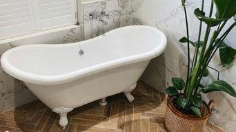 Bamboo Bathroom Transformation