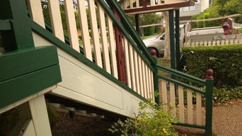 Heritage Listed L Shaped Stairscase