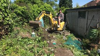 Croydon greenhouse install