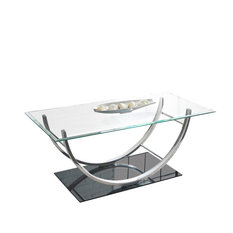 Steve Silver Company   Natalie Cocktail Table, Natural   Coffee Tables