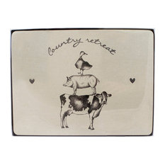 English Tableware Co. Country Retreat Placemats, Set of 4