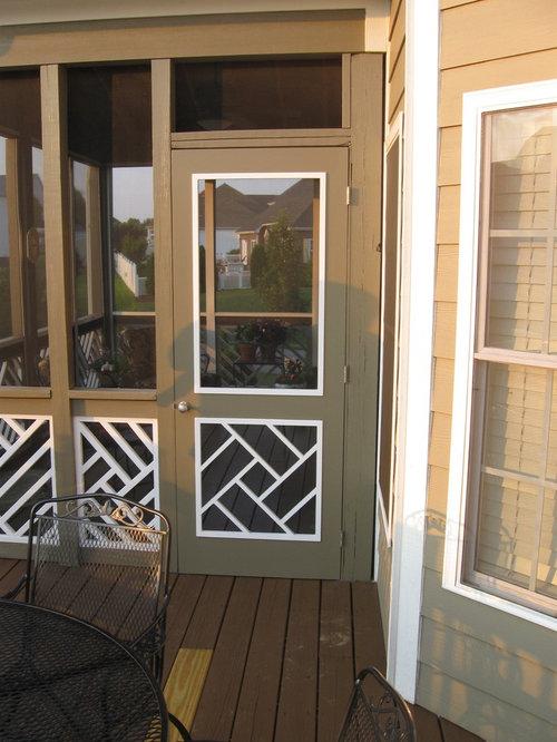 Legacy Chippendale Storm/Sceen Doors - Screen Doors