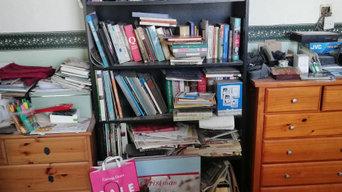 Decluttering Beloved Books
