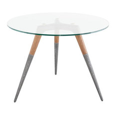 Roman Bistro Table, French Oak