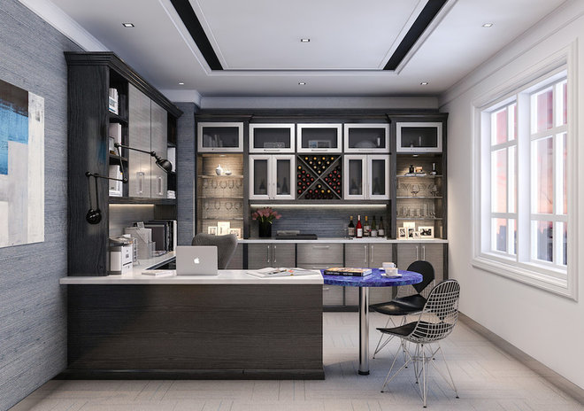 Contemporary Rendering by Closet Factory
