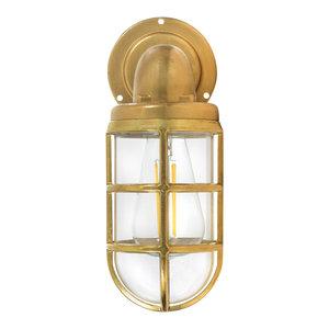 Devonport Down Light - Brass